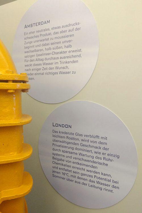 Salzburg Museum Wasser.Spiegel Wasserbeschreibung London Schilder