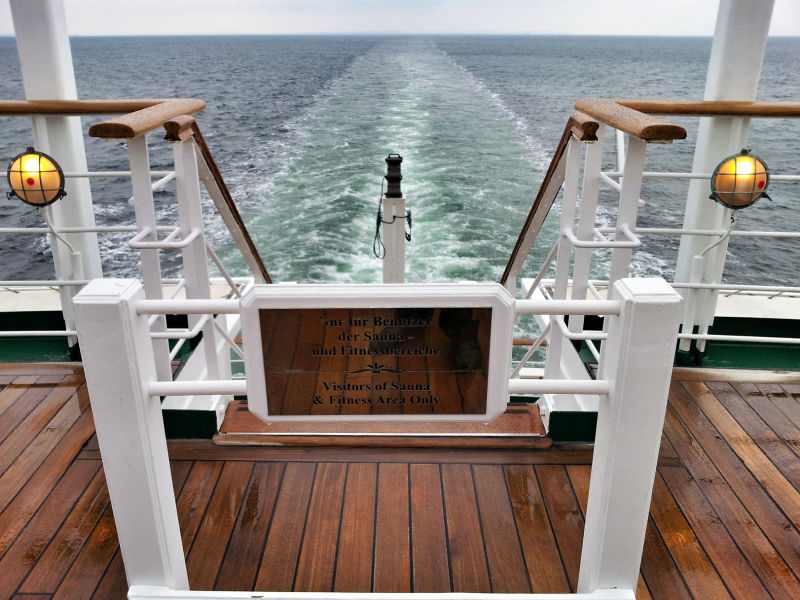Arbeiten am Kreuzfahrtschiff, Wanderhunger, 7 Fragen an Becci Plessl