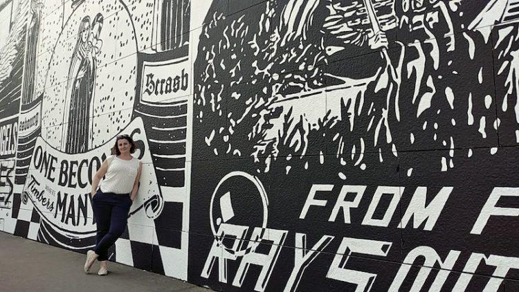 Street Art in Strassburg nahe der Barrage Vauban, Straßburg, Wanderhunger, Fotostrecke