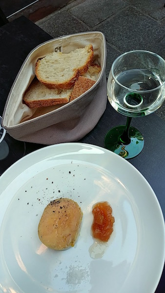 Entenstopfleber, Le Petit Tonnelier, Restaurant Strassburg, Wanderhunger, Fotostrecke