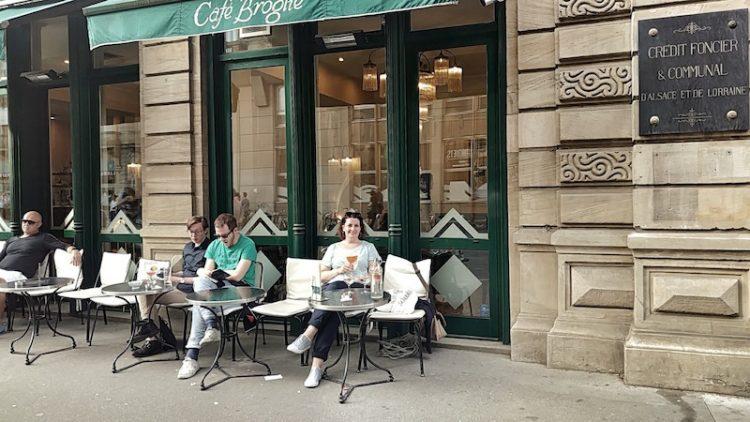 Pause und Aperol Spritz im Cafe Broglie, Strassburg, Wanderhunger, Fotostrecke