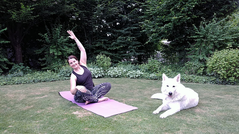 30 Tage Yoga Challenge im Test, Wanderhunger, Woche 1