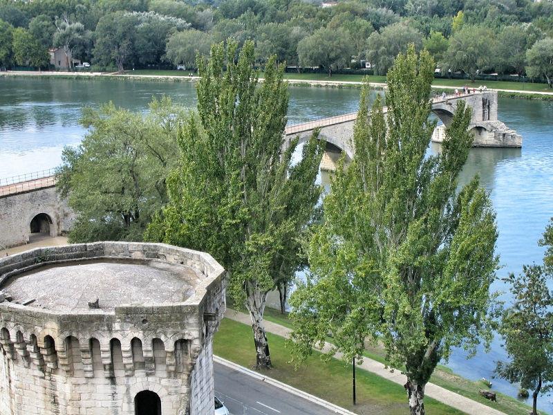 Pont d'Avignon, Pont Saint Benezet, Wanderhunger, Avignon in Bildern