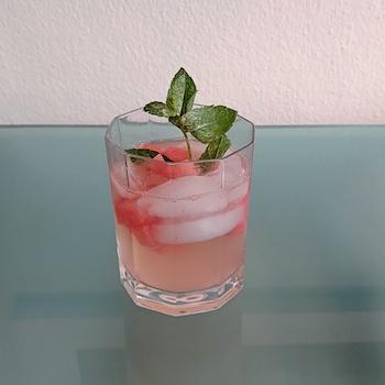 Der Watermelon Fresca, ein Cocktail im Test. Wanderhunger