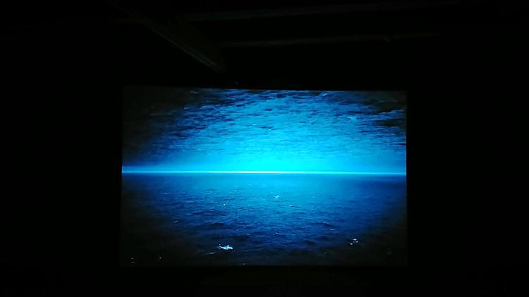 Szene aus dem Film Two Skies von Lukas Marxt beim Linzer Höhenrausch 2018. Wanderhunger