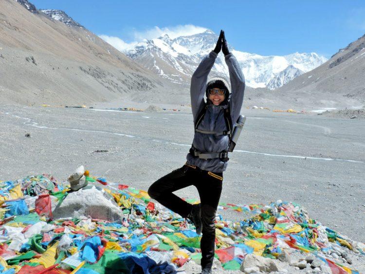 Tanja Nicholls in Nepal. Wanderhunger. 7 Fragen. Tanja Nicholls im Interview