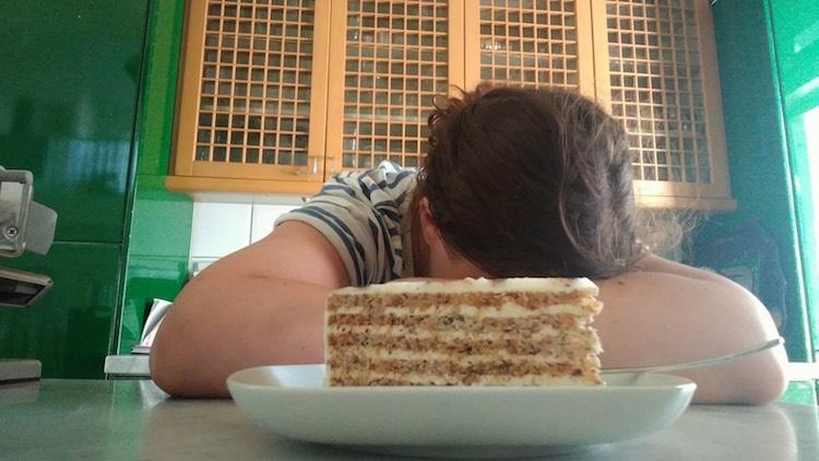 Wenn der überschlanke Mann sich eine Torte gönnt vom besten Konditor, und ich nicht darf. No-Sugar-Challenge, Wanderhunger.