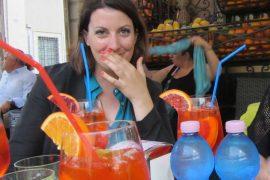 Ein perfekter Reisetag in Venedig beginnt und endet mit Aperol Spritz. Wanderhunger