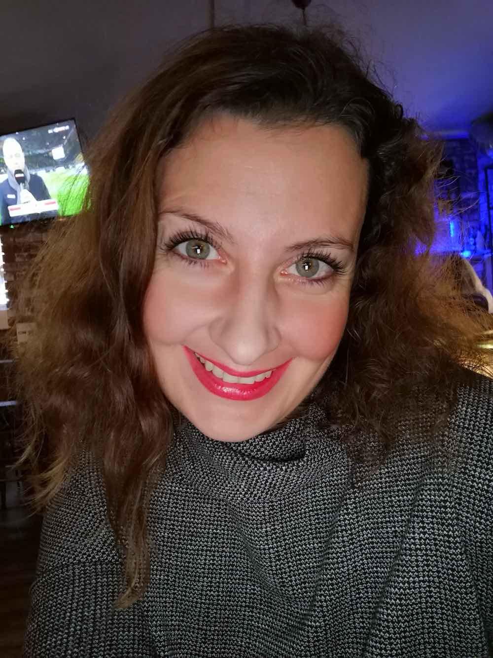 Martina Stasny in Düsseldorf, Autorin von Wanderhunger
