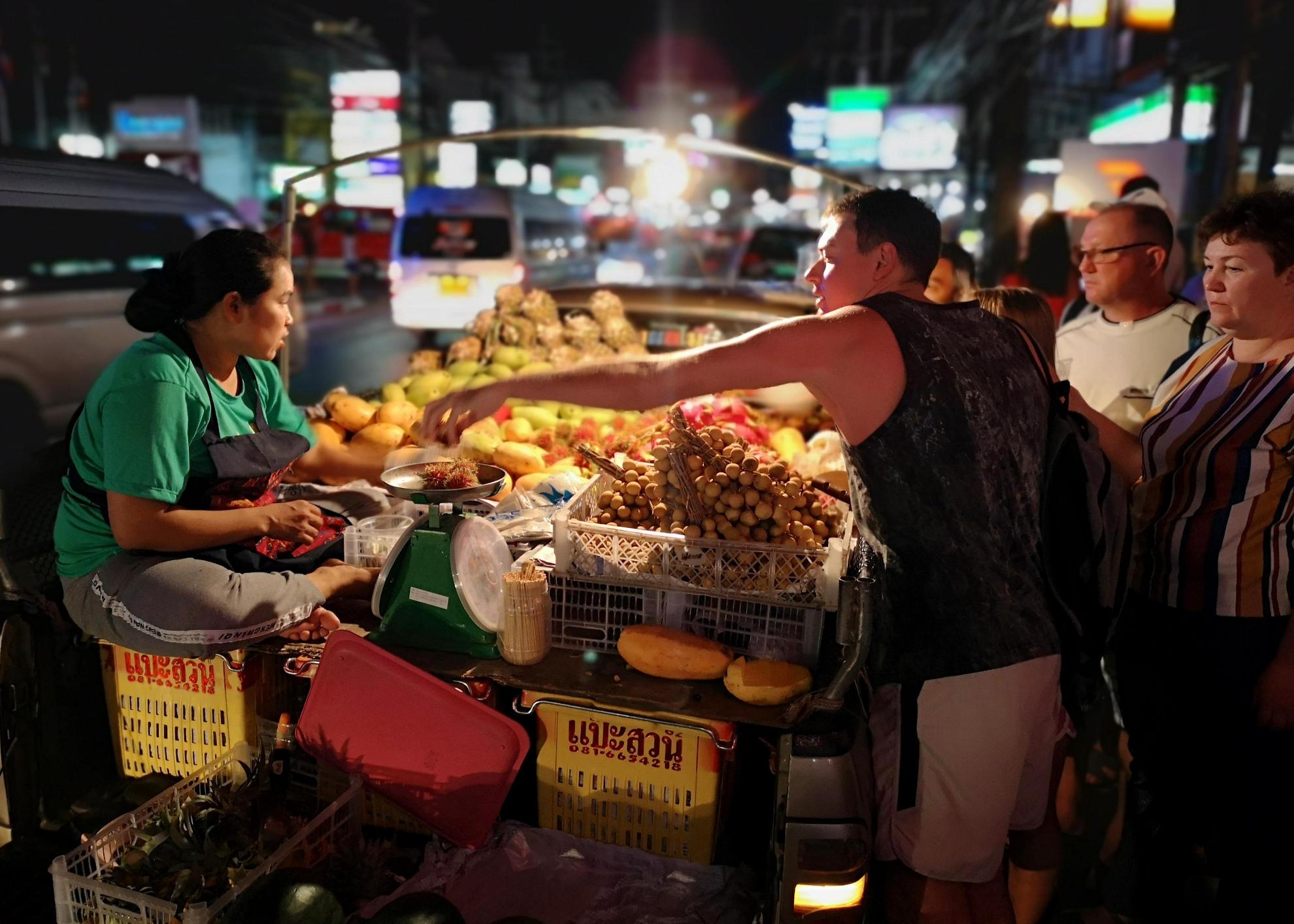 Thailands wunderbare Früchte