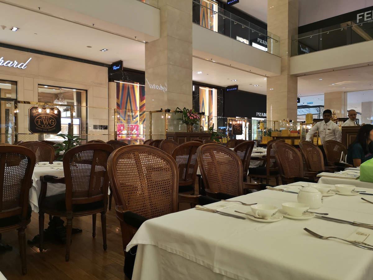 Britisches Teatime Feeling pur im TWG Tea in Kuala Lumpur im Einkaufszentrum Pavilion. Wanderhunger