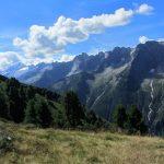 Berggipfel und Gletscher vom Filzenkopf im Zillertal