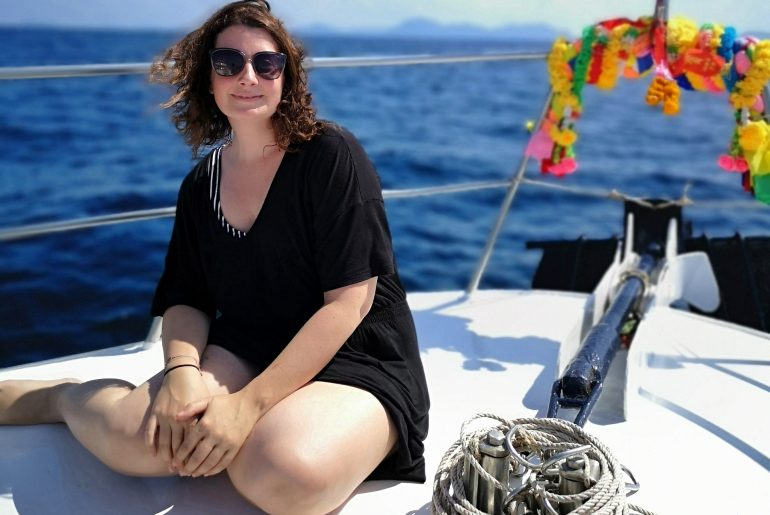 Martina Stasny Wanderhunger OWSI Dive Instructor Tauchlehrerin Blog Bloggerin
